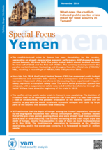 Yemen - Special Focus: What does the conflict-induced public sector crisis mean for food security in Yemen? November 2016