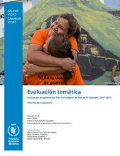 El Salvador, Country Strategic Plan's Gender related topics: Evaluation