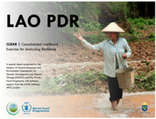 Lao People's Democratic Republic - Consolidated Livelihood Exercise for Analyzing Resilience (CLEAR), September 2016