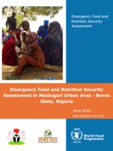 Nigeria - Borno State: Emergency Food and Nutrition Security Assessment in Maiduguri Urban Area, June 2016