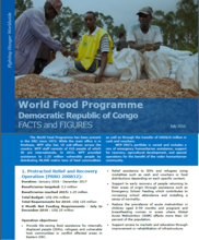 World Food Programme Democratic Republic of Congo FACTS and FIGURES