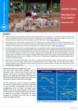 Southern Africa - Monthly Food Price Update, 2016