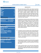 Ethiopia - Monthly Market Watch, 2016