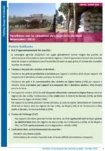 Mali - Synthèse sur la situation des marchés, 2016