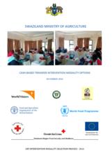 Swaziland - Cash Based Transfer Intervention Modality Options, December 2016