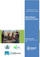 République Centrafricaine - Enquête Nationale sur la Sécurité Alimentaire (ENSA), Decembre 2016
