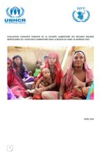 Burkina Faso - Evaluation conjointe PAM/HCR de la securite alimentaire des refugies maliens beneficiaires de l'assistance alimentaire dans la region du sahel au Burkina Faso, Avril 2016
