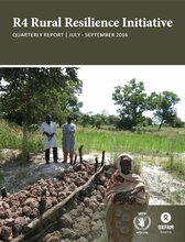 R4 Rural Resilience Initiative: Quarterly Report |July – September 2016