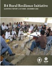 R4 Rural Resilience Initiative: Quarterly Report | October - December 2015