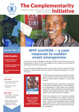 The Complementarity Initiative - WFP simPESA, a cash response to sudden onset emergencies (Oct-Dec 2015)