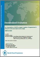 Kenya, WFP Asset Creation Programme in Kenya's Arid and Semi-arid Areas: an evaluation