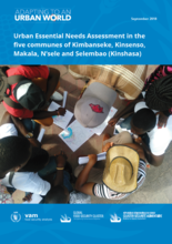 Democratic Republic of the Congo - Urban Essential Needs Assessment in the five communes of Kimbanseke, Kinsenso, Makala, N'sele and Selembao (Kinshasa), September 2018