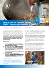 2017 - SAFE Access to Fuel and Energy Initiative in DRC