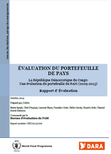 The Democratic Republic of Congo (DRC): an evaluation of WFP's Portfolio (2009-2013)