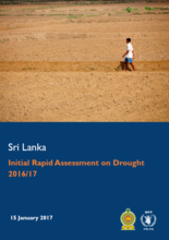 Sri Lanka - Initial Rapid Assessment on Drought 2016, January 2017