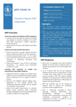 COVID-19 - Situation reports