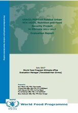 Ethiopia, Urban HIV/AIDS, Nutrition and Food Security: an evaluation