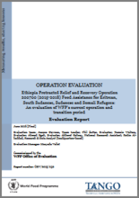 Ethiopia PRRO 200700 (2015-2018) Food Assistance for Eritrean, South Sudanese, Sudanese and Somali Refugees: An Operation Evaluation