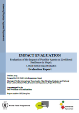 Food for Assets on Livelihood Resilience in Nepal: An Impact Evaluation