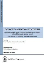 Synthesis of the Evaluation of the Impact of Food for Assets 2002-2011 and Lessons for Building Livelihoods Resilience