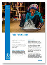 2018 -  WFP and Food Fortification