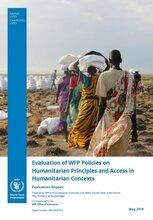 Evaluation of WFP Policies on Humanitarian Principles and Access in Humanitarian Contexts