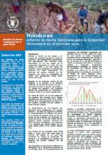 Honduras - Boletín de Alerta Temprana: Informe de Alerta Temprana para la Seguridad Alimentaria