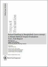School Feeding in Bangladesh (2001-2009): A Mixed Method Impact Evaluation