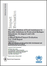 Food Assistance in Protracted Refugee Situations in Ethiopia (2003-2010): a Joint Mixed Method Impact Evaluation