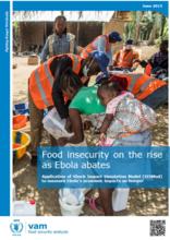 Guinea, Liberia and Sierra Leone - Food Insecurity on the Rise as Ebola Abates, June 2015