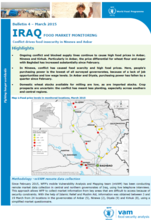 Iraq - Food Market Monitoring Bulletin #4: Conflict drives food insecurity in Ninewa and Anbar, March 2015