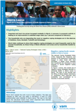 Sierra Leone - mVAM Bulletin #15: Wage rates and terms of trade improve in Sierra Leone, March 2015
