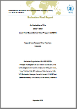 Indonesia, Maternal and Child Nutrition Programme: an evaluation