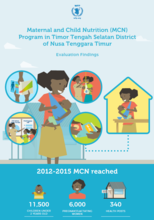 Evaluation Reports on Mother and Child Nutrition (MCN) Programme in Indonesia