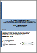 Liberia PRRO 200550 Food Assistance For Refugees And Vulnerable Host Populations: An Operation Evaluation