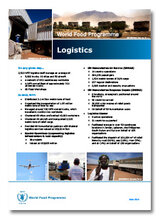 2013 -  WFP Logistics in 2013: Key Facts and Figures