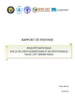 Mali - Enquete Nationale sur la Securite Alimentaire et Nutritionnelle (ENSAN Mali), Fevrier 2017