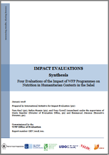 Four Evaluations of the Impact of WFP Programmes on Nutrition in Humanitarian Contexts in the Sahel: A Synthesis