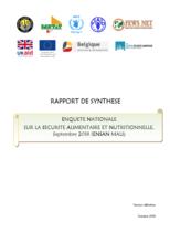 Mali - Enquête Nationale sur la Sécurité Alimentaire et Nutritionnelle (ENSAN Mali), Septembre 2018
