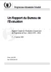 Rapport Complet de l'Evaluation a mi-parcours du Programme de Pays - Mali (1999 - 2002)