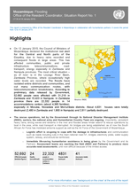 Mozambique: Flooding Office of the Resident Coordinator, Situation Report No. 1