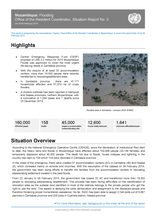 Mozambique: Flooding Office of the Resident Coordinator, Situation Report No. 3
