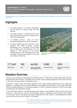 Mozambique: Flooding Office of the Resident Coordinator, Situation Report No. 4