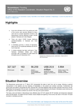 Mozambique: Flooding Office of the Resident Coordinator, Situation Report No. 5