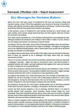 Nigeria - Damasak /Mobbar LGA – Rapid Assessment, December 2017