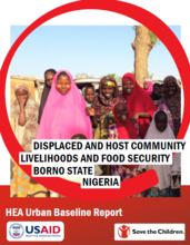 Nigeria - Household Economy Approach (HEA) Urban Baseline Report in Borno  State, May 2017