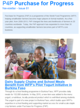P4P Newsletter - 2016