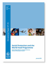 Occasional Paper 25 - Social Protection and the World Food Programme