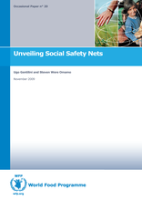 Occasional Paper 20 - Unveiling Social Safety Nets -   U. Gentilini and S.W. Omamo