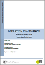 Annual Synthesis of Operation Evaluations (2015-2016) Partnerships for the Future